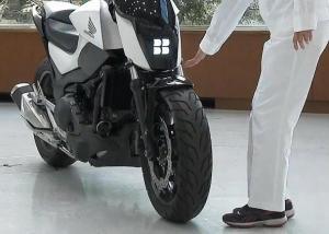 هوندا تبتكر دراجة نارية ذاتية التوازن لا تسقط أبدا