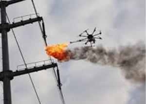 الصين تزوّد طائرات دون طيار بقاذفات اللهب